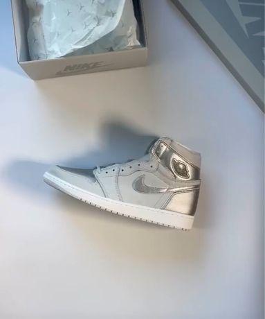 Nike Air Jordan 1 Retro High OG Silver Grey