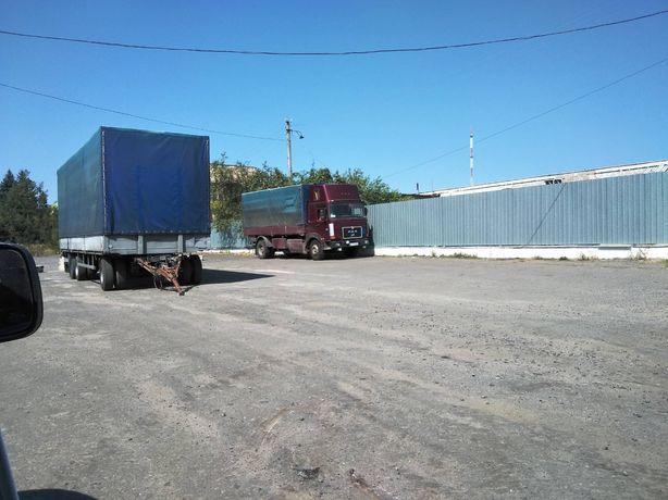 Вантажні перевезення машиною або машина із прецепом