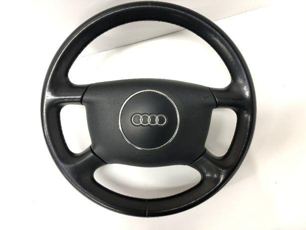 Audi A3/A6 kierownica skórzana ŁADNA A3 skóra poduszka