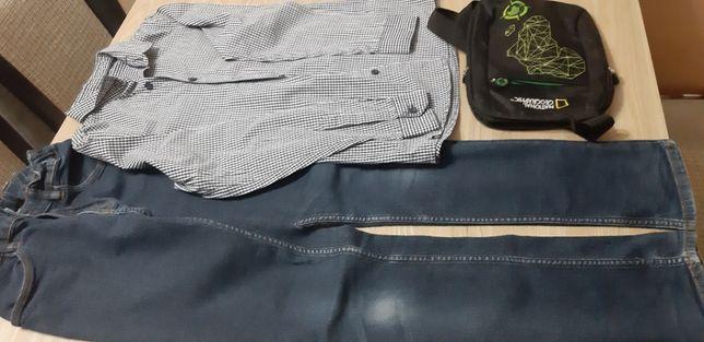 Zestaw ubrań chłopięcych 146-158