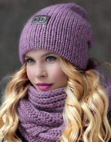 Вяжу на заказ шапки,хомуты,шарфы,варежки!
