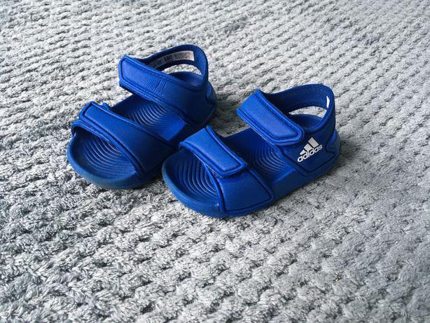 Sandałki dziecięce adidas rozmiar 19 niebieskie