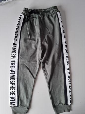 Nowe spodnie dresowe 5 6 lat