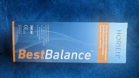 Nowy Płyn do soczewek Horien Best Balance 360 ml + pojemnik