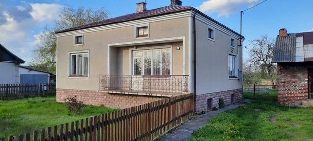 Dom 100m2+ zabudowannia gospodarcze + działka budowlano-rolna 6330m2