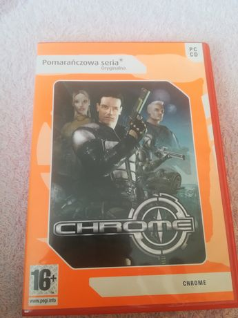 Gra na PC chrome pomarańczowa seria