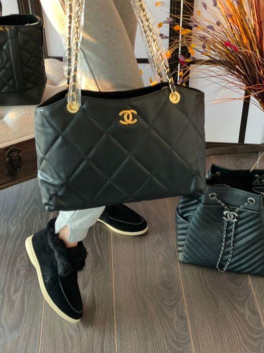 Шикарная сумка Chanel в коже Киев - изображение 1
