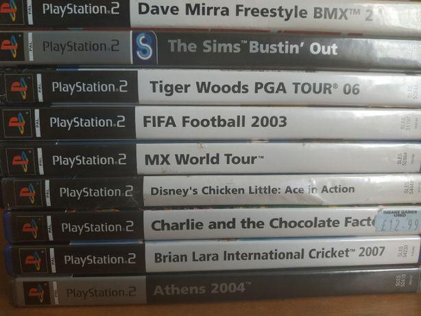 ZESTAW gier na PS2