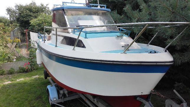 Jacht,,, Łódź motorowa kabinowa, ESTEOU 530 - diesel