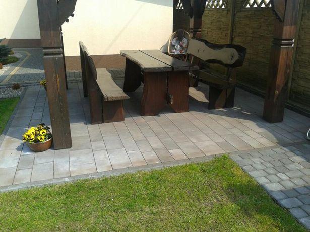 Meble ogrodowe - bez metalowych łączeń