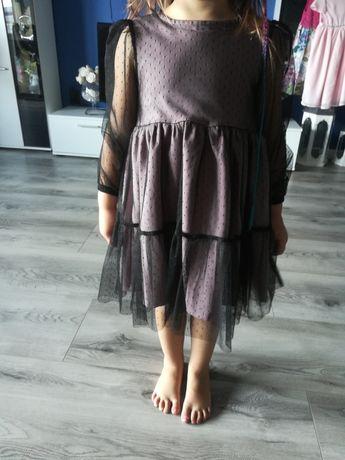 R. 104 wieczorowa śliczna sukienka dla dziewczynki Klaudynka