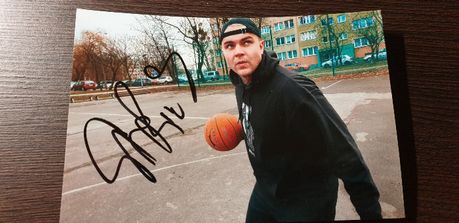 Sarius zdjęcie z jego autografem