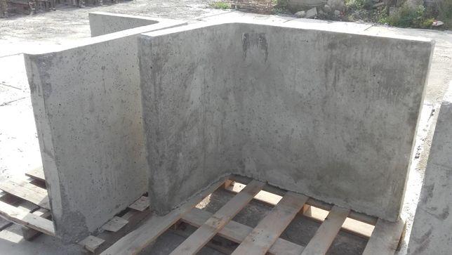 Mur oporowy Lka 120x100x80x10 II gat