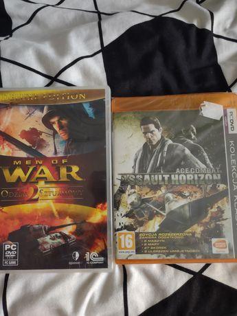 Gry PC nowe Men of war i Ace Combat