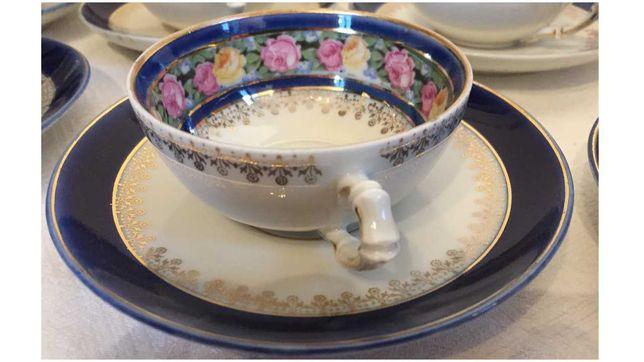 Serviço de chá francês