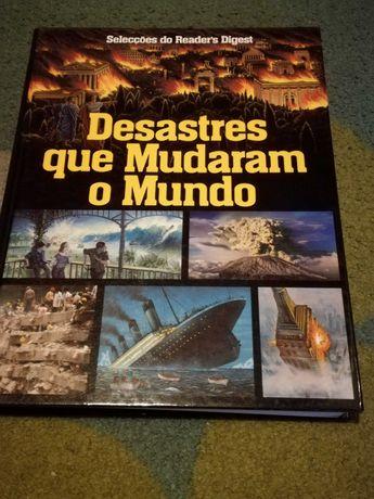 Livro Desastres que mudaram o mundo das seleções readers digest