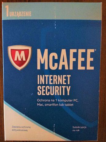 Program atywirusowy McAFEE Internet Security Zamiana na Office