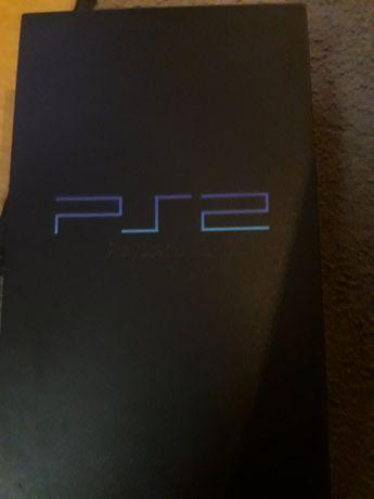 PS2 playstation 2 com 6 jogos originais