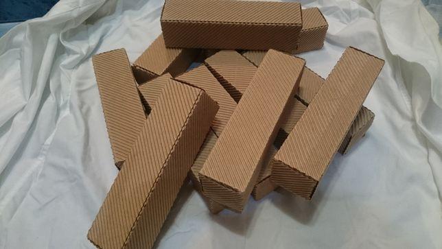 Kartoniki pudełko ozdobne z tektury falistej ładne kartonik podłużny