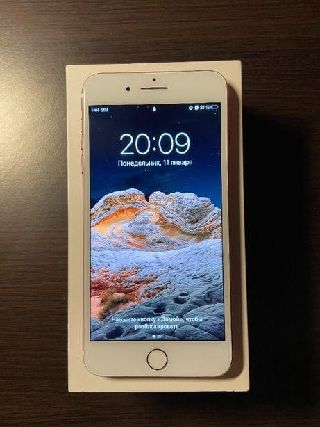 Продам IPhone 7+ 128 gb Rose Gold (состояние 9/10)