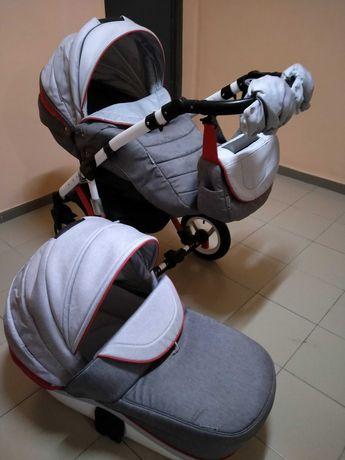 Детская коляска 2 в1 Adamex Gloria Rainbow
