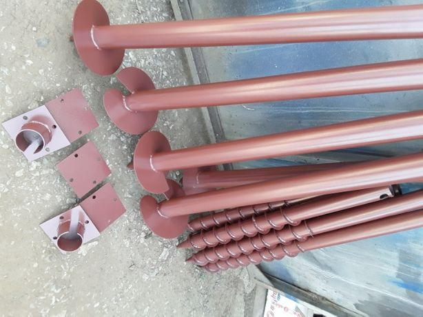 Монтаж винтовых свай фундамент изготовление свай (многовитковая БЗС)