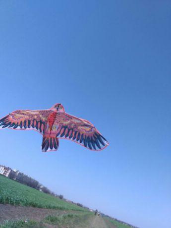 Воздушный змей большой Орел Сокол Летающий