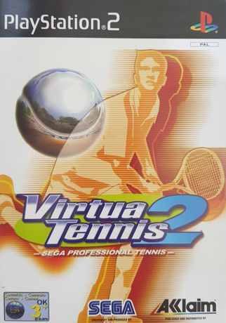 Virtua Tennis 2 PS2 PlayStation 2 Używana Kraków