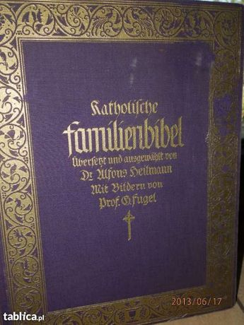 Katolicka Biblia Rodzinna