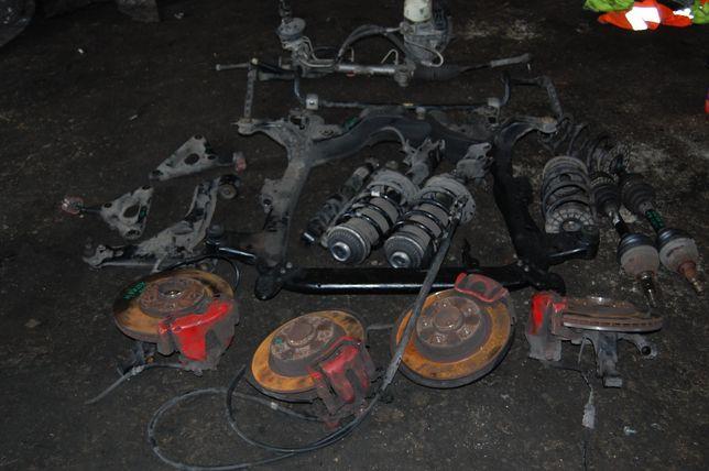 Передняя та задняя подвеска стойка цапфа ступіца супорт Opel Astra H