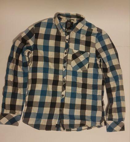 Koszula niebieska cropp