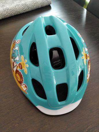 Kask rowerowy B'twin dla najmłodszych dzieci chłopiec