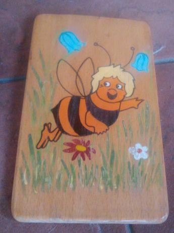 starocie wykopki prl obrazek pszczòłka maja