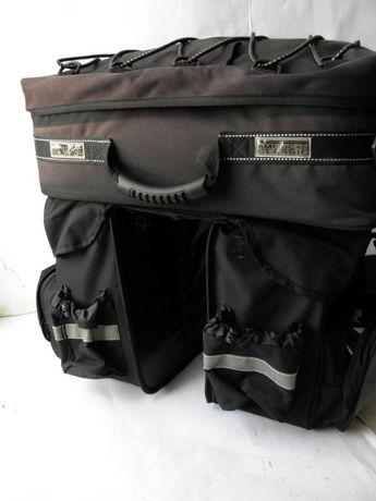 Sakwy torby bagi rowerowe AMERICAN CLASSIC40x45x33 ok.100l.