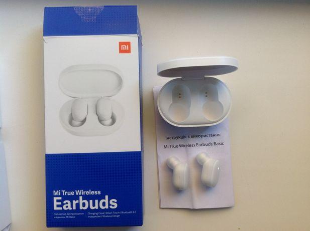 продам беспроводные наушники mi true wireless earbuds white