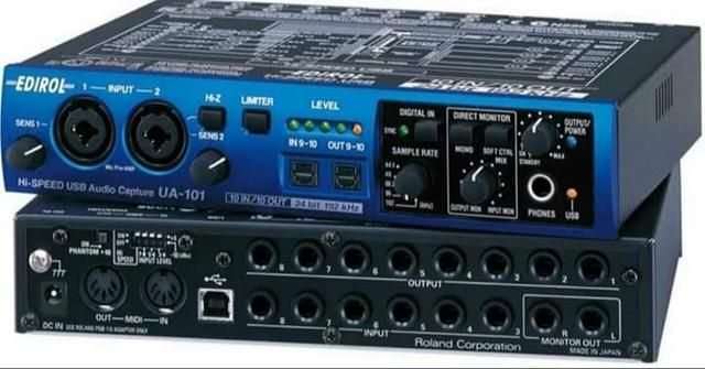 Cakewalk by Roland UA-101 10 In/Out USB2 Interface