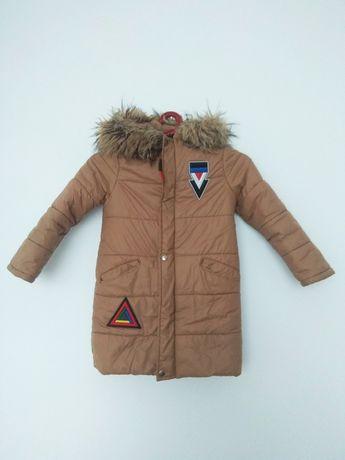 Куртка пуховик зимовий