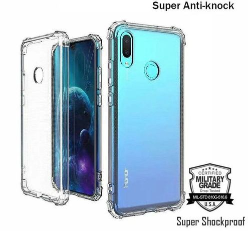 Capa Anti-Xock Semi-Rígida Samsung A21S /S10 /S9 Plus/Note 10 Plus/ S9