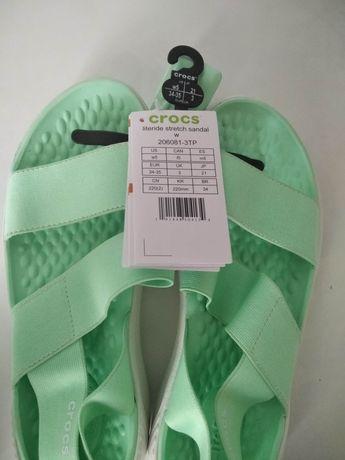 Крокс, crocs 35eur,  w5, оригинал, кроксы сандали босоножки сандалии