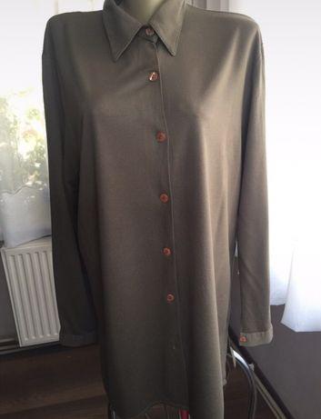 Dluga koszula khaki, firmy Cauture, rozmiar 2-3xl