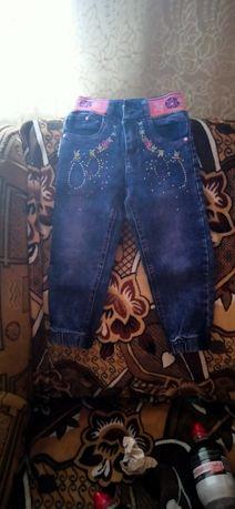 Плащик і джинси для дівчинки