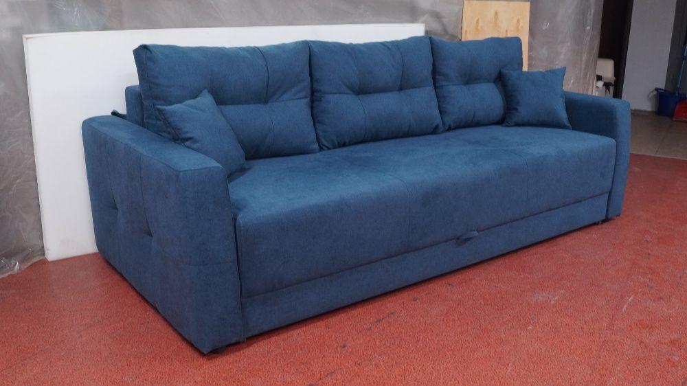 Синий диван для дома Харьков - изображение 1