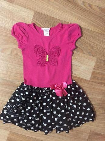 Летнее платье для девочки 6 лет bonnie jean
