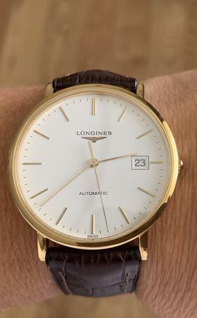 Золотые часы longines L4.787.6.32.2