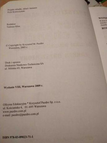 Zbiór  zadań  z chemii zakres  rozszerzony  Pazdro wydanie 2009