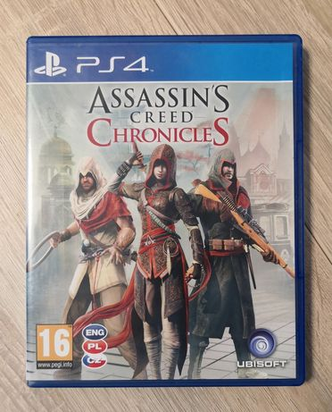 Gra Assassin's Creed Chronicles PS4 PL