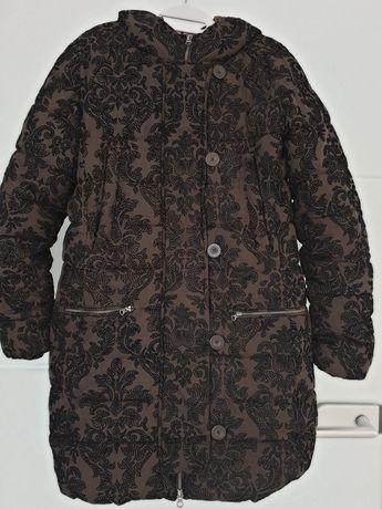 Desigual  ciepła kurtka na zime kaptur 40 42
