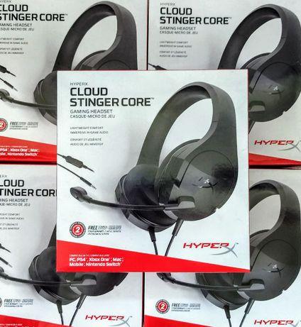Игровая Гарнитура Наушники HyperX Cloud Stinger Core PC HX-HSCSC2-BK