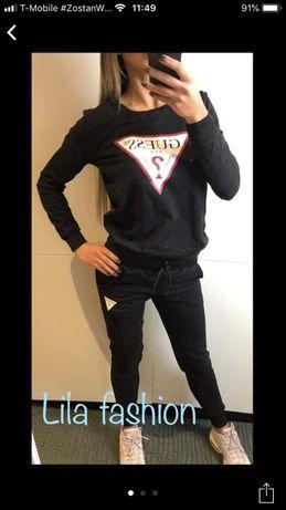 Dres damski z logo Guess czarny S-XL!!!