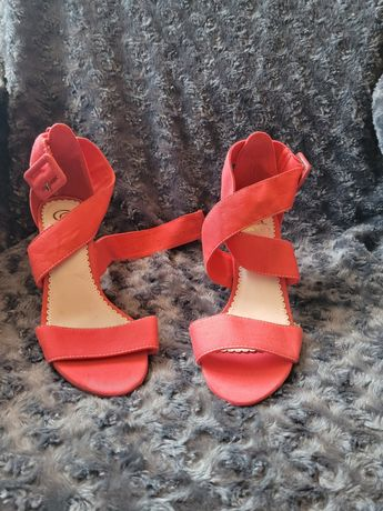 Sapatos cor salmao
